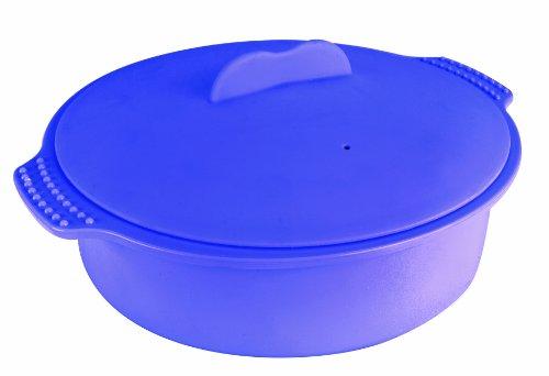 Ibili 871222 - Recipiente de vapor 22 cm 2000ml 100% silicona