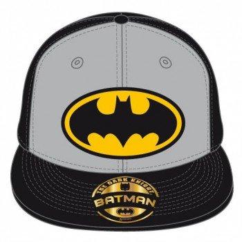Batman - Logo einstellbarer Cap Snap-Back Baseball Kappe Mütze Hut Original & Lizensiert