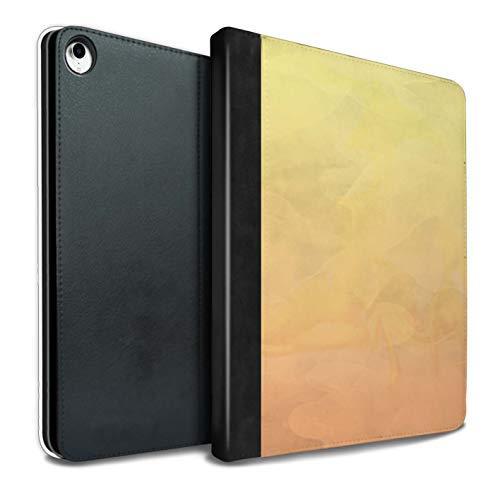 eSwish PU-Leder Hülle/Case/Brieftasche für iPad Pro 10.5 (2017) Tablet/Feuer/Aquarell Muster/Abstrakt Ombre Kollektion -