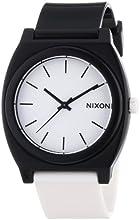 Nixon A119005-00 – Reloj analógico de cuarzo unisex con correa de plástico, color multicolor