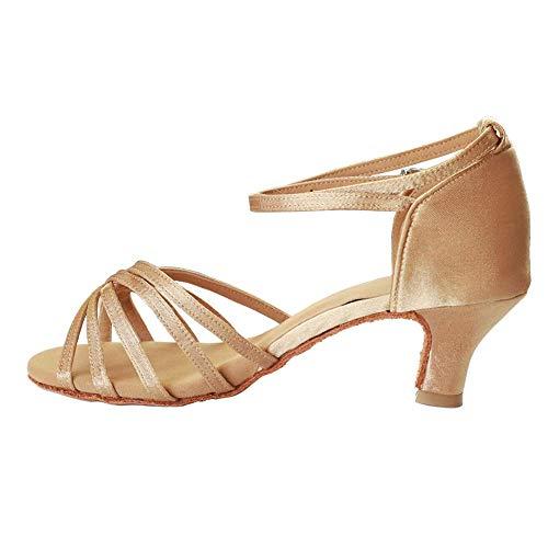 Vesi - Donna Scarpe da Ballo Latino/Sala da Ballo/Standard Tacco 5cm/7cm Beige 37