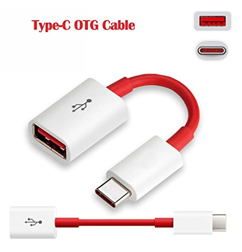 Honor WaterPlay LTE Cable Adapter Type C OTG Cable Type C, Original Genuine OTG Cable Adapter, C Type OTG Cable Adapter, C OTG Data Cable, C OTG USB Cable, C OTG Charger Cable, C OTG Connector, C OTG Convertor, USB 3.1 Type-C Male OTG to USB 3.0 Female OTG On The Go Cable Attach To Pendrive, Mouse, Keyboard, OTG Card Reader (RED)