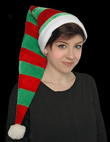 87b24e5e40 Extra Long Adult Elf Hat - Chrismas Santa s Little Helper ·  related-product. Unisex Elf Red   Green Christmas ...