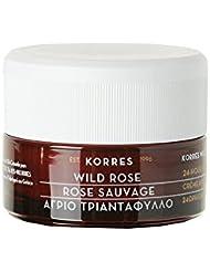 Korres Wild Rose 24-Stunden-Feuchtigkeitscreme für ölige Haut und Mischhaut, 40ml