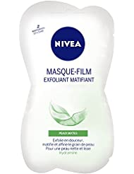 Nivea Masque-Film Exfoliant Matifiant Peaux Mixtes 2 x 5 ml - Lot de 4