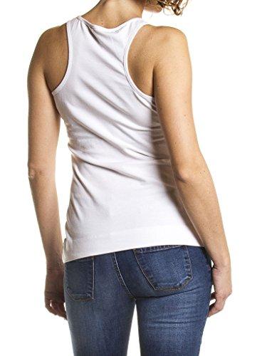Carrera Jeans - Tank-Top P8590070A für frau, regular fit, Ärmelloses 001 - Weiß