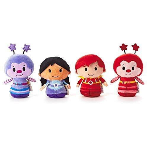 hallmark-kids-kid3246-rainbow-brite-itty-bittys-collection-of-indigo-red-butler-hammy-sprite-and-rom