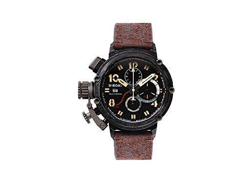 U-Boat Chimera Automatic Watch, Carbon, Titanium, GMT, 48mm, Lim. Edition, 7177