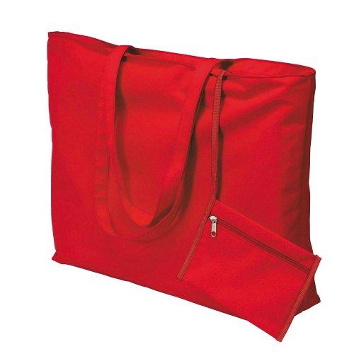 Unknown, Borsa tote donna rosso