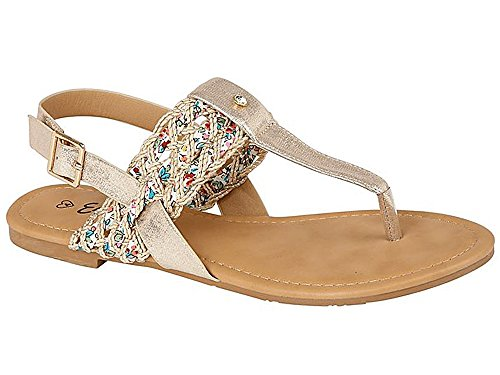 ladies-leather-look-fashion-diamante-bead-flat-toe-post-flip-flop-summer-sandal-shoes-size-3-8-uk-8-