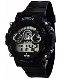 Pappi Boss Casual Sports Digital LED Black Watch for Men and Boys