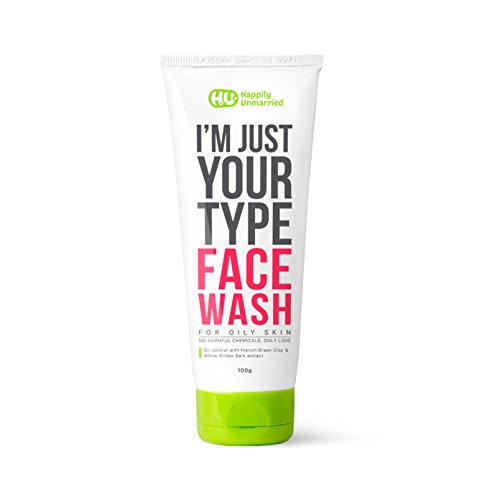 Happily Unmarried Face Wash Oily Skin, 100ml