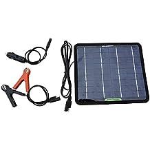 ECO-WORTHY 12V 5 Vatios Potente Cargador de Batería Portátil Panel Solar Para Acampar del