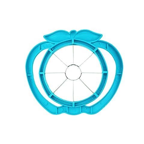 Grande Apple Cutter NEUF Advanced Apple trancheuse, Cutter, Slitter, Acier inoxydable Apple trancheuse, 8Sharp Lame de scie, poignée ergonomique et plastique Baseshun YI