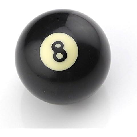 Owfeel americano nero numero 8Biliardo Ball 2, colore: nero