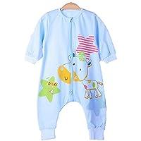 Saco de dormir del bebé Saco de dormir recién nacido Swaddle Body Saco Pijamas Bebé Transpirable