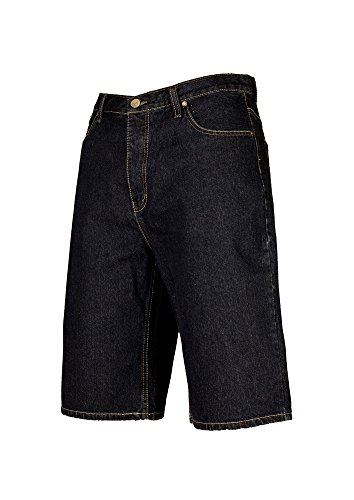 Urban Classics pantaloni corti da uomo Basic Jeans pantaloncini da dkblue
