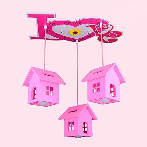 Oli die Kinder Zimmer Kronleuchter Beleuchtung LED, Rosa Hut Prinzessin Kreative Zimmer die Schlafzimmer Cartoon Lichter Kronleuchter Innenbeleuchtung -