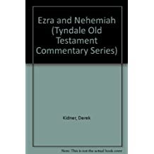 Ezra and Nehemiah (Tyndale Old Testament Commentary Series)
