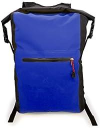 MyGadget Wasserdichte Dry Bag [25L Rucksack] Roll Top Daypack Wasserfest - PVC Trockenbeutel Drybag Outdoor Tasche für Wasser Sport & Wandern in Blau