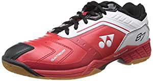 Yonex SHB87EX Badminton Shoes, 7 UK (Red/White)