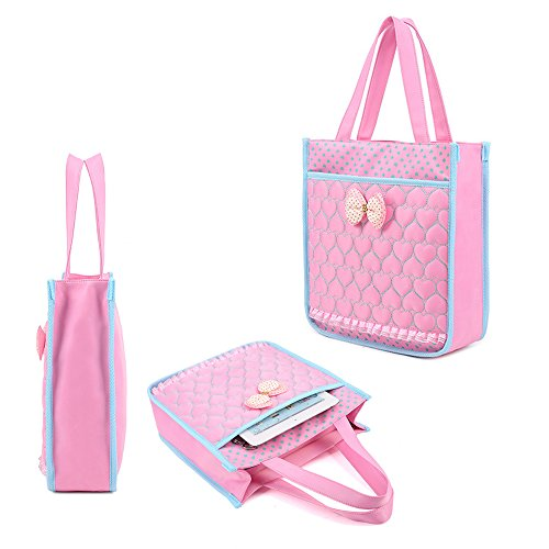 KINDOYO Wasserdichter Rucksack für Kinder Unisex Schultaschen Jungen Mädchen für Reisen, Wandern, Sport Pink