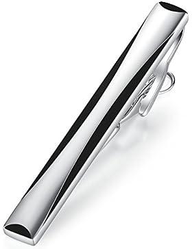Hochwertig Herren Krawattennadel Krawattenklammer Tie Clip aus Edelstahl