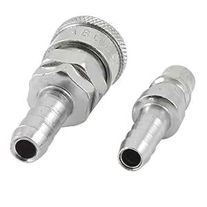 Droite pneumatique, 9 mm et 11 mm ardillon Coupleur RACCORD DE FLEXIBLE D'Air