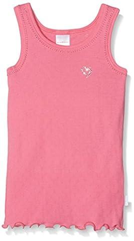 Schiesser Mädchen Unterhemd 129569, Gr. 92, Rot (pink 504)