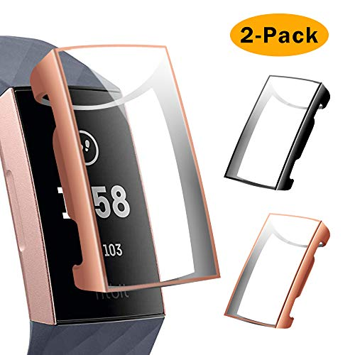 CAVN - Protector Pantalla Fitbit Charge 3 2 Unidades