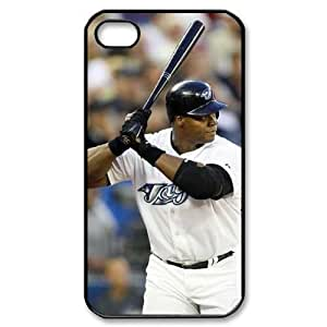 MLB iPhone 4,4S White Toronto Blue Jays cell phone cases&Gift Holiday&Christmas Gifts NADL7B8824135