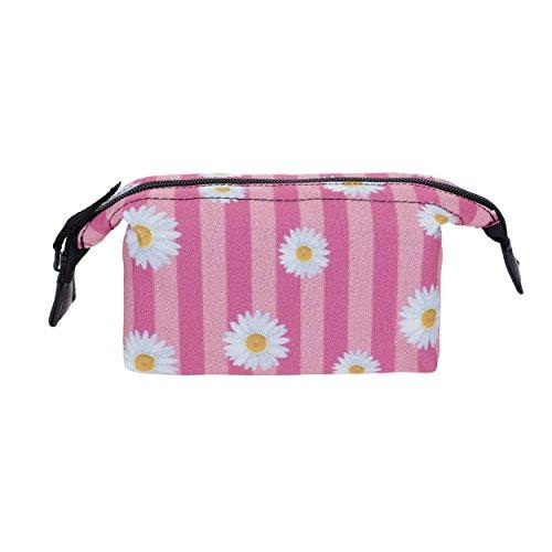 Fringoo, Vanity Fille Femme multicolore Daisy Pink Stripes - Boxy