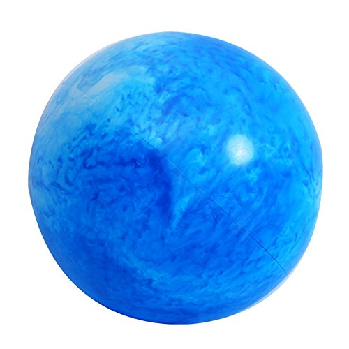 OMZBM Bunter Übungs-Ball-Besonders Starker Yoga-Ball-Stuhl, Anti-Burst-Hochleistungs-Stabilitäts-Ball Stützt 200Kg, Geburts-Ball mit Fuß-Pumpe (Büro U. Haus U. Turnhalle) 65Cm,D