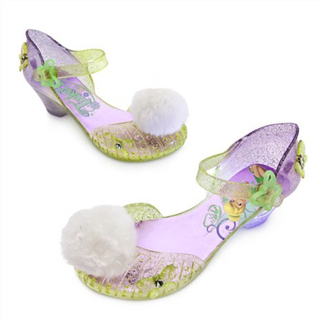Tinkerbell Kostüm Light Up Schuhe für Kinder Größe UK 11-12, EU 29-31 (Elf Kostüm Uk)