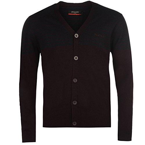 pierre-cardin-hombre-a-rayas-panel-cardigan-chaqueta-ropa-vestir-casual-plum-navy-small