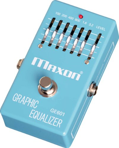 MAXON GE601 GRAPHIC EQUALIZER · PEDAL GUITARRA ELECTRICA