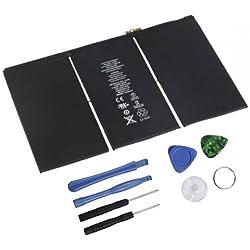 Dds-dudes 11560mAh Li-ION Batterie Interne de Remplacement pour iPad 44ème A1458, A1459, A1460+ Outils de réparation