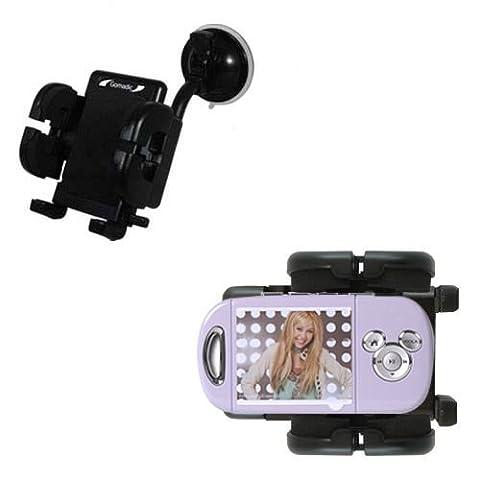 Disney Hannah Montana Mix Stick MP3 Player DS17032 Windschutzscheibenhalterung für KFZ / Auto - Cradle-Halter mit flexibler Saughalterung für Fahrzeuge
