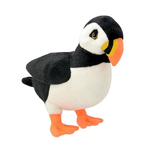 wild-planet-24-cm-classique-puffin-jouet-en-peluche-multicolore
