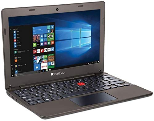 iBall CompBook Excelance-OHD (Intel Atom Processor X5 – Z8350/2 GB/32 GB/29.46cm (11.6 )/Win 10) (Chocolate Brown)