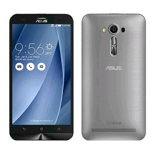 """Asus ZE550KL Zenfone 2 Laser Smartphone, Display 5.5"""", 16 GB, Dual-SIM, Argento [Italia]"""
