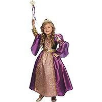 Dress Up America Disfraz de Príncipesa púrpura para niñas Disfraz de Príncipesa púrpura para niñas