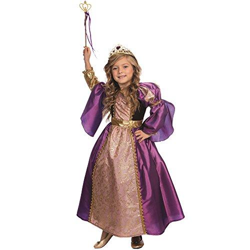 Dress Up America Purple Royalty Prinzessin Kostüm für Mädchen Kleine Prinzessin Kleid von Dess Up America