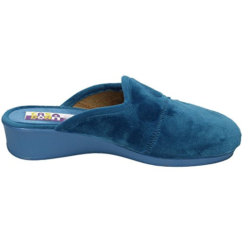 MADE IN SPAIN, Pantofole donna blu hostess