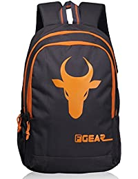 F Gear Castle Bull 20 Ltrs Orange Casual Backpack (2453)