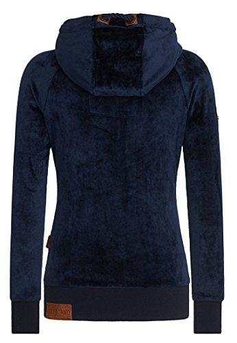 Naketano Female Zipped Jacket Brazzo Mack Dark Blue
