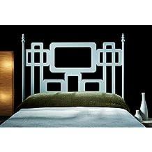 hogares con estilo cabecero de forja nacional modelo cuadros para una cama de cms