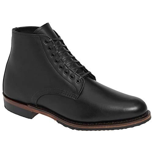 ch Williston Leder Black Stiefel 42 EU ()