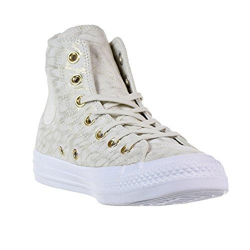 Converse Star Hi Women Sneaker Beige Neutro Bianco
