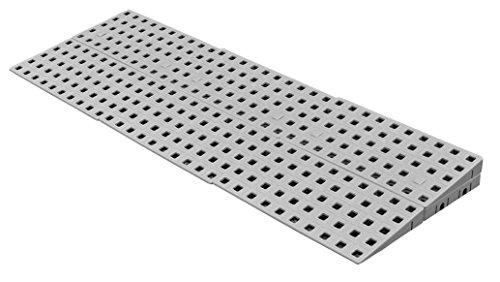 Schwellenrampe Modular für innen | Rampe für Türschwellen | In verschiedenen Höhen erhältlich | Rollstuhlrampe (3,8 bis 5,4 cm x 75 cm) -
